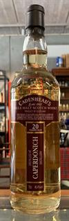 Caperdonich 1996, 20yo. 46,4%. Cadenheads Closed Distilleries Series