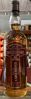 Carsebridge (Single Scottish Grain), 1976, 41yo, 49,1%. Cadenheads Closed Distilleries.