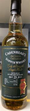Fettercairn 1993, 23yo. 50,7%. Cadenheads Authentic Collection