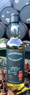 Fettercairn 1988, 31yo, 54,7%. Cadenheads Authentic Collection.