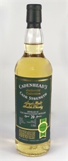 Glen Grant 1997, 20yo, 51,9%. Cadenheads Authentic Collection.
