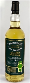 Glen Spey 2001, 16yo, 54,7%. Cadenheads Authentic Collection.