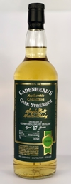 Glenrothes 2001, 17yo, 54%. Cadenheads Authentic Collection.