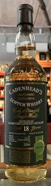 Glenrothes 18yo, 53,6%, Cadenhead's Authentic Collection