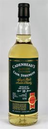 Ord 2008, 10yo, 56,2%. Cadenheads Authentic Collection.