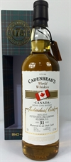 Potters Corn, Canada 31yo (1985) 57.1%. Cadenheads World Whiskies