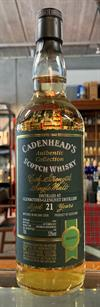 Glenrothes 1994, 21yo, 53%. Cadenheads Authentic Collection.