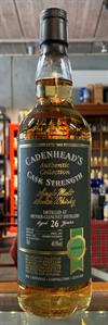 Speyside 1991, 26yo, 48,9%. Cadenheads Authentic Collection.