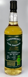 Tomintoul 2006, 11yo, 56,1%. Cadenheads Authentic Collection.