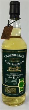 Tomintoul 2006, 11yo, 57,2%. Cadenheads Authentic Collection.